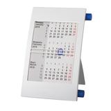 Календарь настольный на 2 года, белый/ синий фото