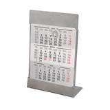 Календарь настольный на 2 года, 18*11,5 см, стальной фото