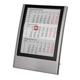 Календарь настольный на 2 года, черный/ серый фото
