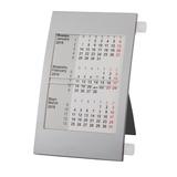 Календарь настольный на 2 года, белый/ серый фото
