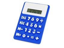 Калькулятор Splitz, синий, белый фото