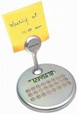 Калькулятор вращающийся с держателем для бумаг фото