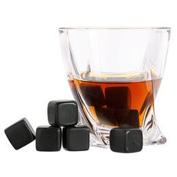 Камни для охлаждения напитков 9 камней Black Rocks, черный фото