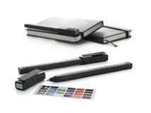 Ручка пластиковая роллер Plus 0,7мм, черный фото