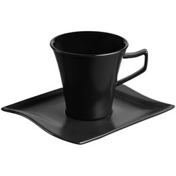 Кофейная пара Twist Mist, черная фото