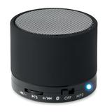 Колонка Bluetooth круглая, черный фото