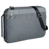 Конференц-сумка 2 в 1 twoFold, серый с темно-серым фото