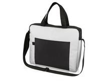 Конференц сумка для документов Congress, чёрно-серая фото