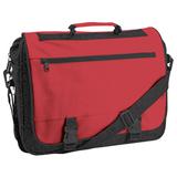 Конференц-сумка Expo, черный, красный фото