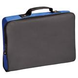 Конференц-сумка Folder, черный/ синий фото