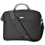Конференц-сумка Prestige c шильдом, черный, 35x5,5x27,5 см, микрофибра фото