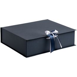 Коробка на лентах Tie Up, синяя фото