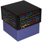 Коробка подарочная Пожелание, малая фото