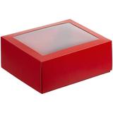 Коробка с окном InSight, красная фото