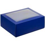 Коробка с окном InSight, синяя фото