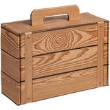Коробка Suitable, коричневая фото