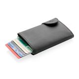 Кошелек с держателем для карт C-Secure RFID, черный фото