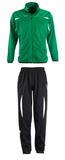 Костюм тренировочный CAMP NOU, зеленый/черный фото