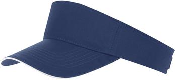 Козырек ACE, темно-синий с белым фото