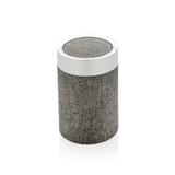 Круглая колонка Vogue, серебряный/серый фото