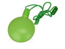 Диспенсер для мыльных пузырей круглый, зеленый фото