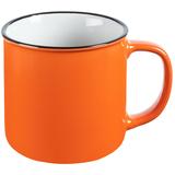 Кружка Dacha, оранжевая фото