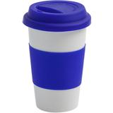 Кружка FarFor, синяя фото
