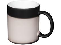 Кружка Kaffa для сублимации, чёрная фото