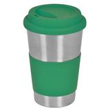 Кружка кофейная Утро, зеленый, зеленый фото
