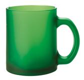 Кружка Foggy матовая, зеленая фото