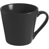 Кружка Modern Bell, матовая, черная фото