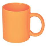 Кружка керамическая 300 мл, оранжевый фото