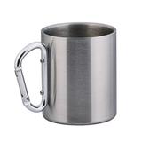 Кружка с карабином, серый фото