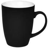 Кружка Sweet с прорезиненным покрытием, черный, 350 мл фото