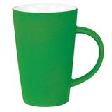 Кружка Tioman с прорезиненным покрытием, зеленый фото
