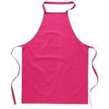 Кухонный фартук из хлопка, розовый фото