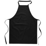 Кухонный фартук из хлопка, чёрный фото