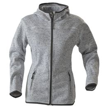 Куртка флисовая женская SANTA ANA, серый меланж фото