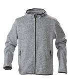 Куртка флисовая мужская RICHMOND, серый меланж фото