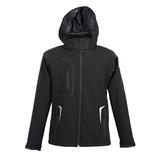 Куртка мужская софтшел ARTIC, чёрная фото