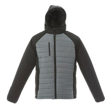Куртка мужская TIBET, чёрно-серая фото