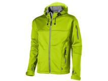 Куртка софтшел Match мужская, зеленый/ серый фото