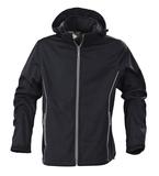 Куртка софтшелл мужская SKYRUNNING, темно-синяя фото