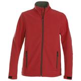 Куртка софтшелл мужская TRIAL, красная фото