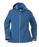 Куртка софтшелл женская HANG GLIDING, синяя фото