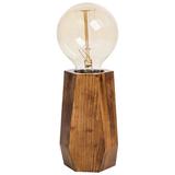 Лампа настольная Wood Job, коричневый фото