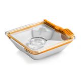 Ланч бокс box appetit, оранжевый фото
