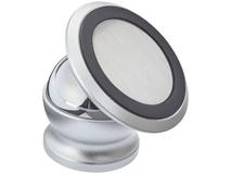 Магнитный держатель телефона Mount, серебряный/серый фото
