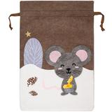 Мешок для подарков Noel, с мышкой фото