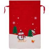 Мешок для подарков Noel, с пингвинами фото